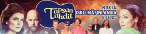 Tapsan Tahtien konserteissa esiintyvät Suvi Teräsniska, Erin, Tuure Kilpeläinen ja Kaihon karavaani sekä Vesterinen yhtyeineen
